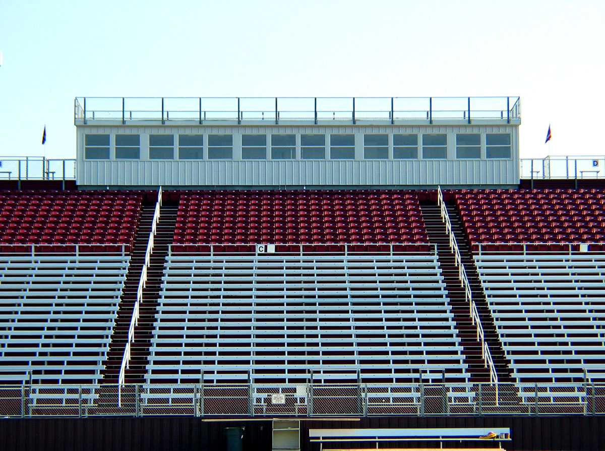 Press Box Stadium Seating By Sturdisteel